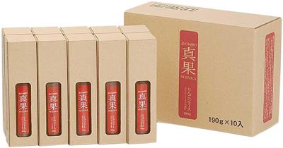真果 りんごジュース/10本入りケース